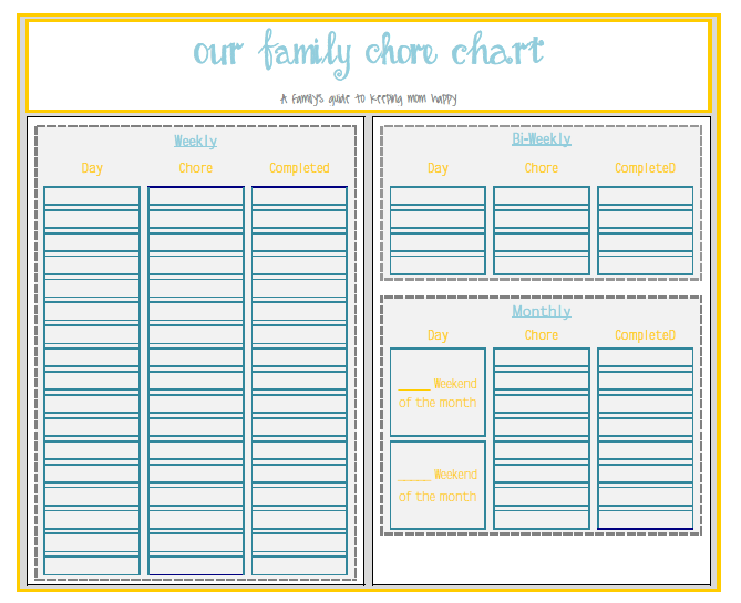 Chore Chart image