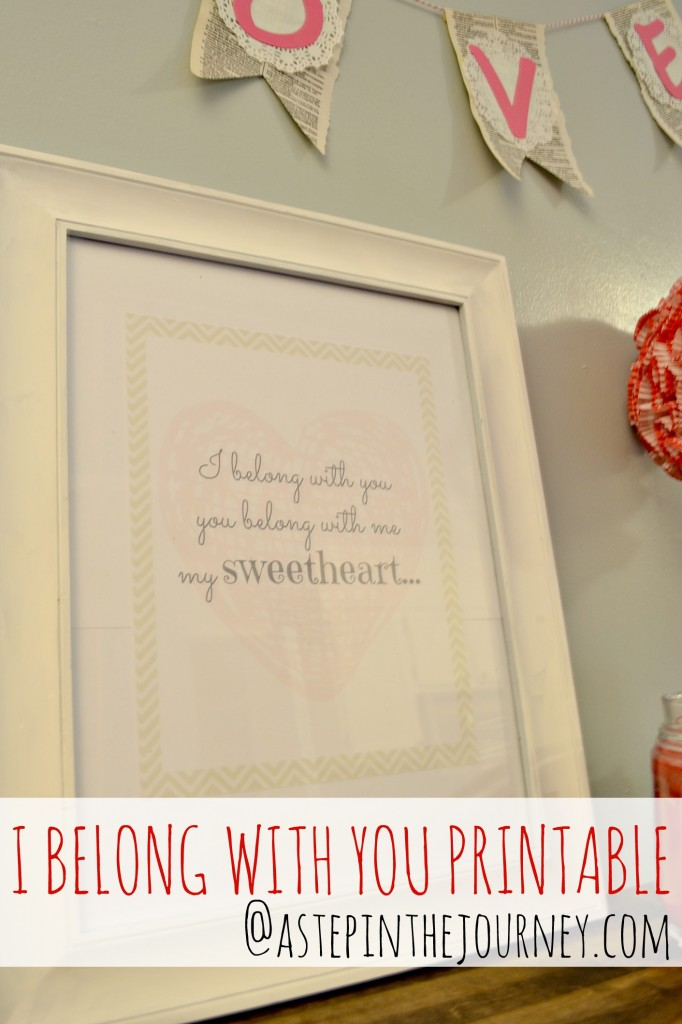 I belong with you printable