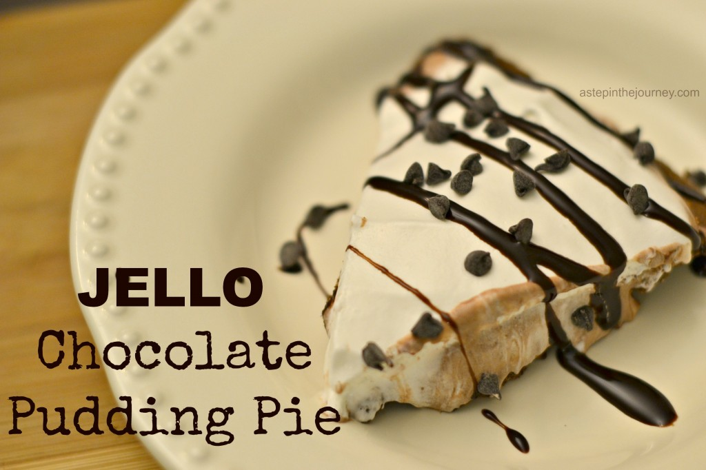 Jello Chocolate Pudding Pie