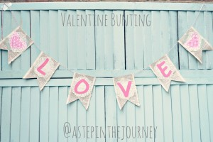 Love Valentine Bunting