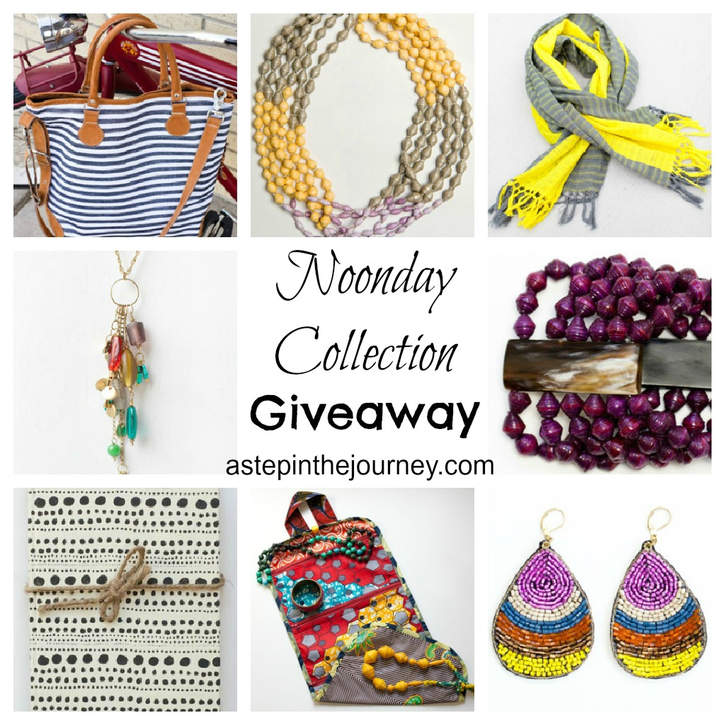 Noonday Collection Giveaway {astepinthejourney.com}