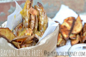Bacon Cheese Fries @astepinthejourney