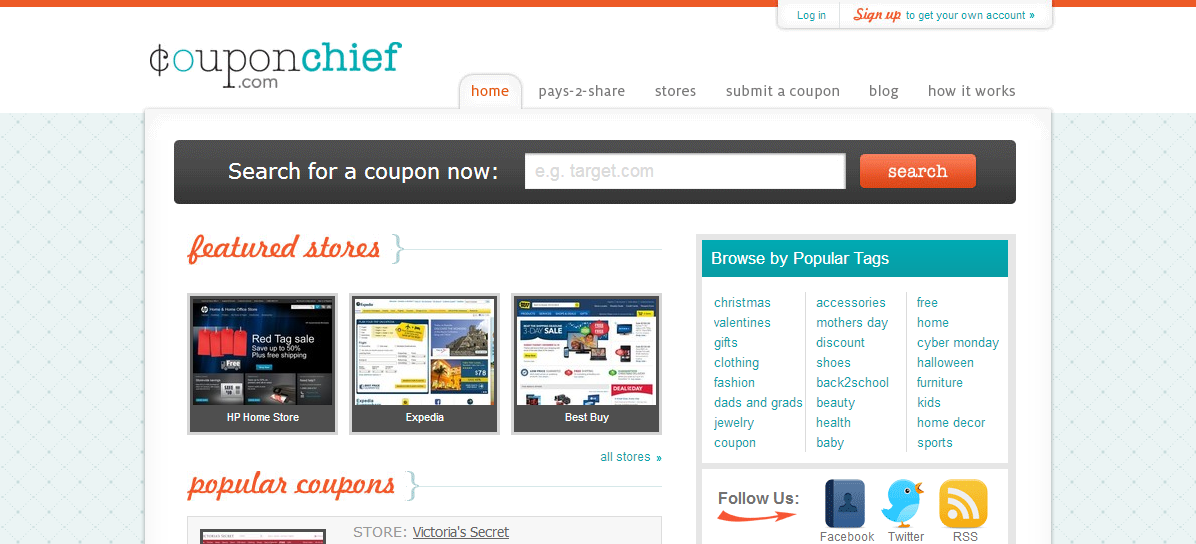 coupon chief screen shot