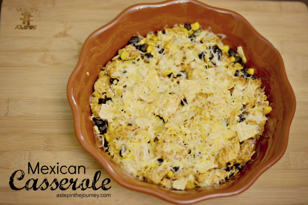 mexican casserole recipe @astepinthejourney
