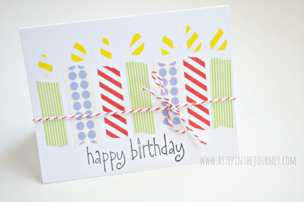 washi tape birthday card_1