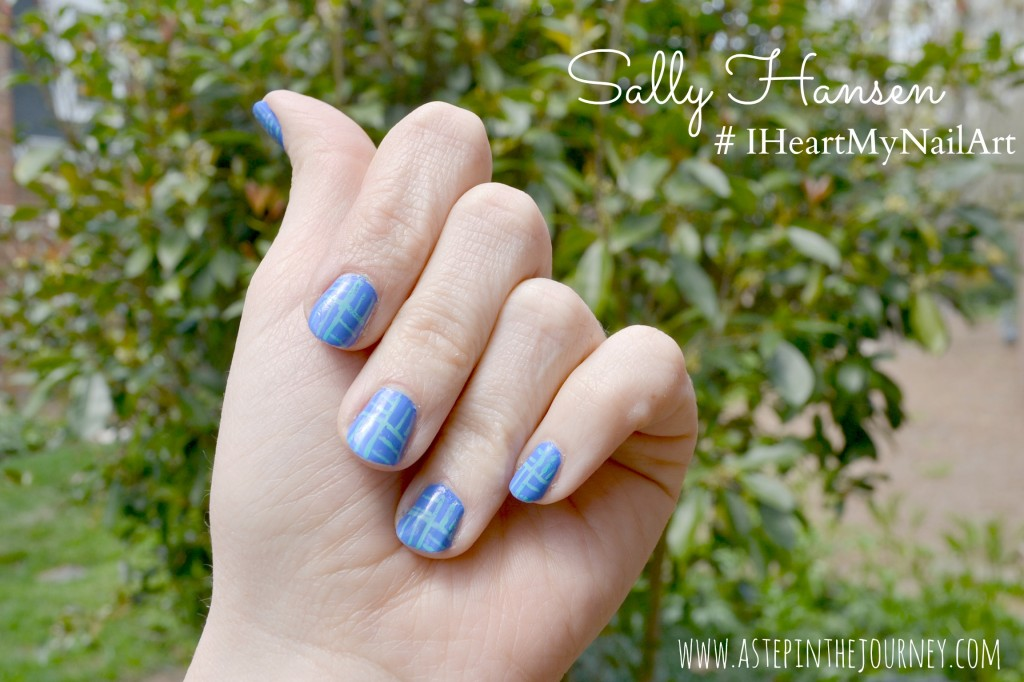 sally hansen #IHeartMyNailArt_1