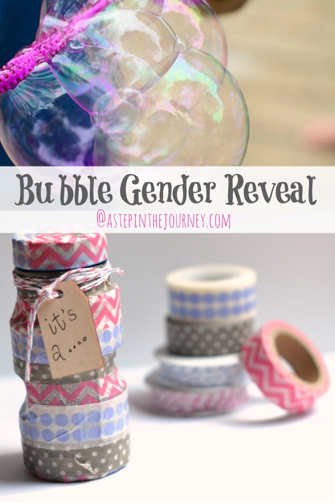 Bubble Gender Reveal