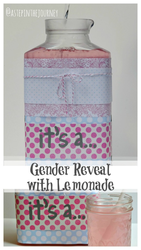 lemonade gender reveal