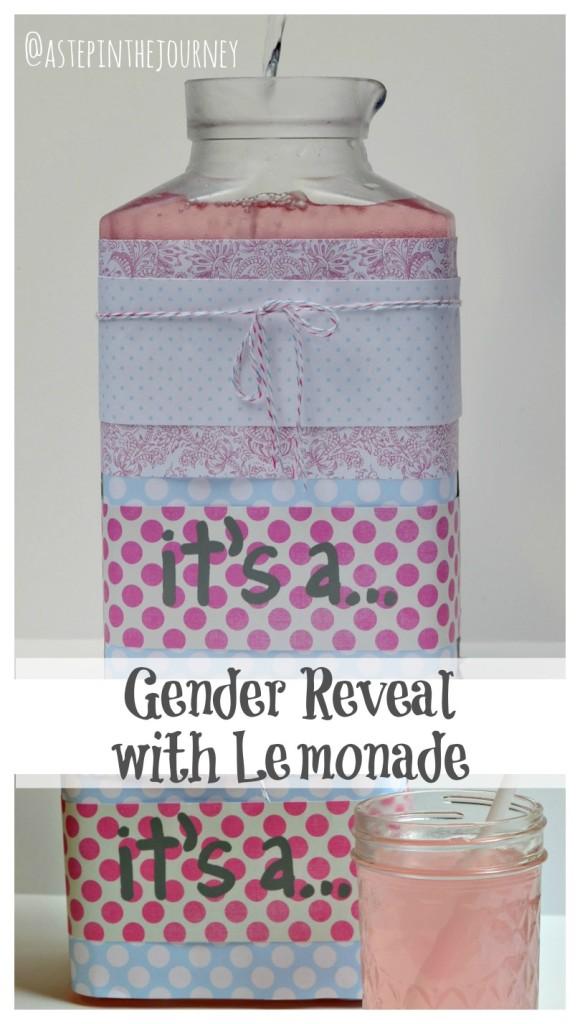 lemonade gender reveal
