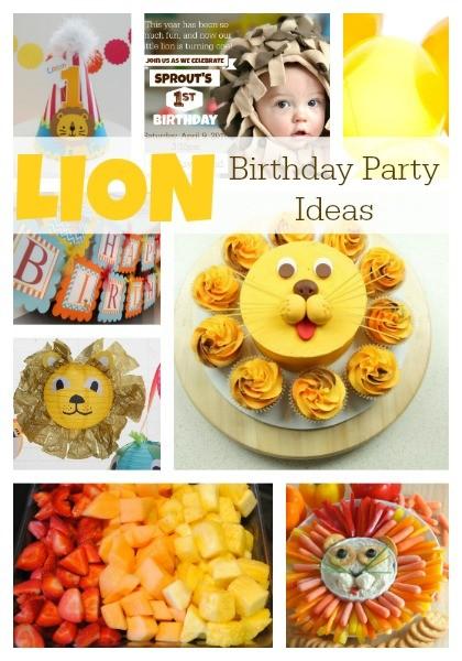 lion_birthday_party_ideas