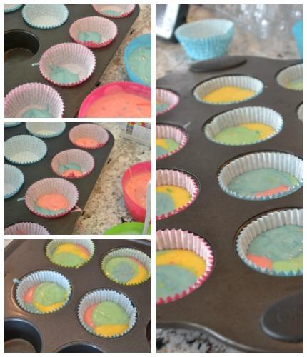 making_rainbow_cupcakes
