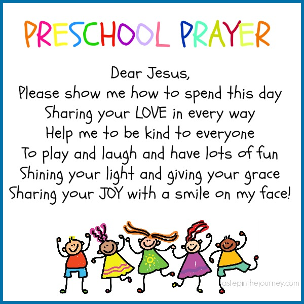 Preschool Prayer